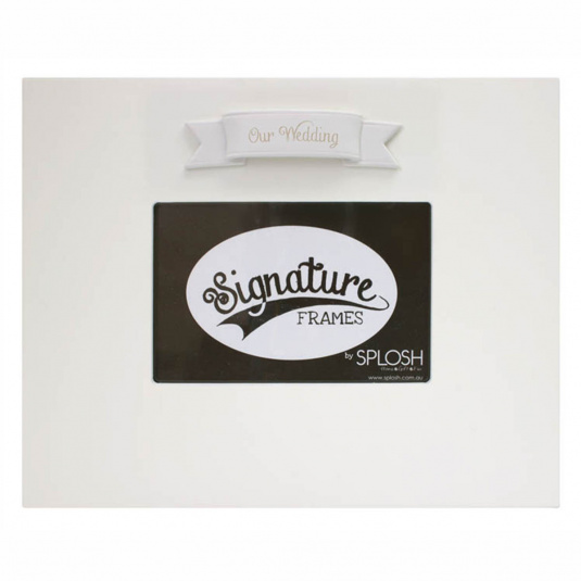 Signature Wedding Frame