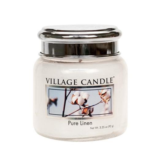 Village Candle Pure Linen Petite Jar   Housing Units