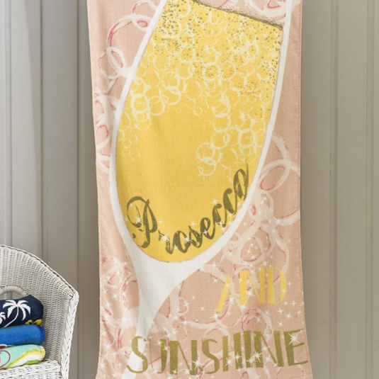 Deyongs Prosecco Beach Towel