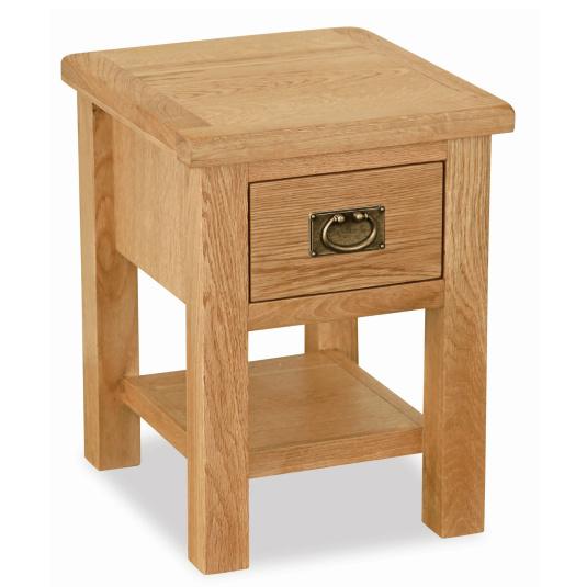 Dorset Light Oak Lamp Table