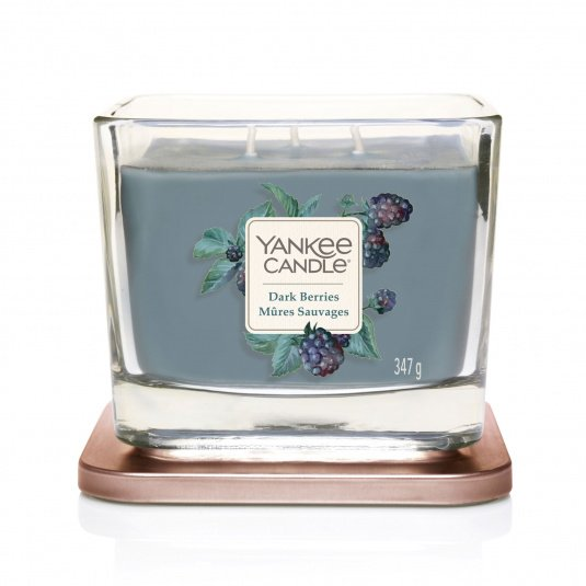Yankee Candle Dark Berries Medium 3-Wick Candle