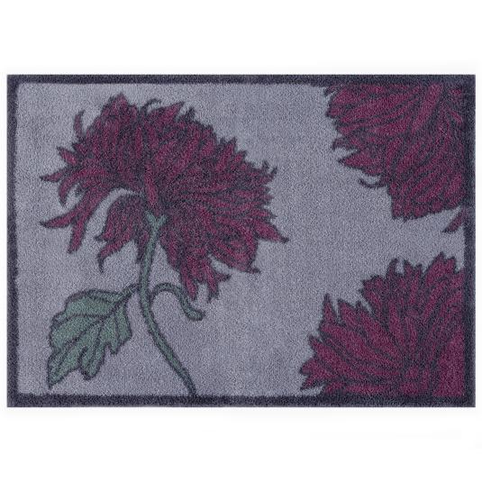 Turtle Mat RHS Chrysanthemum Floor Mat