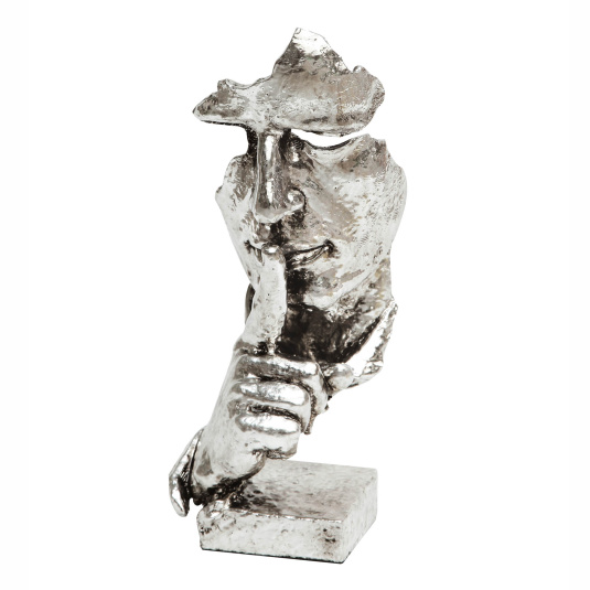 Whisper Silver Sculpture