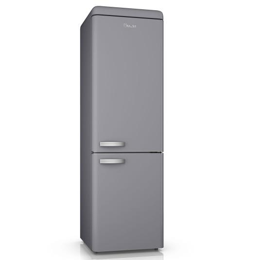 Swan Retro Grey 70/30 Fridge Freezer