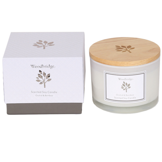 Woodbridge Orchid and Bamboo Large Candle
