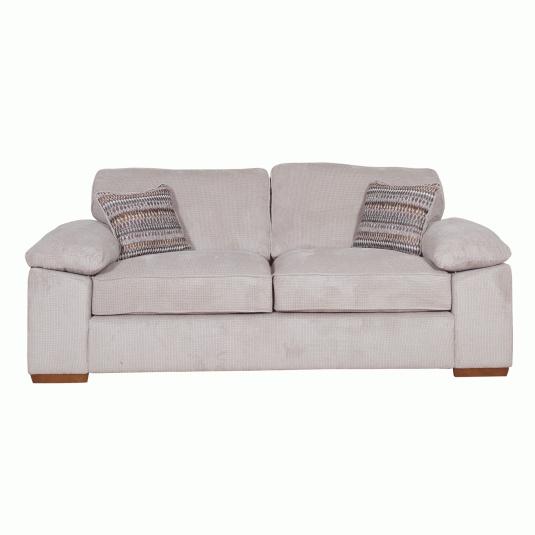 Alexander Stone Fabric 3 Seater Sofa