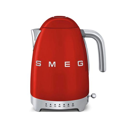 Smeg 50's Retro Style Red Temperature Control Kettle