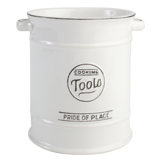 Pride of Place White Large Cooking Utensils Pot