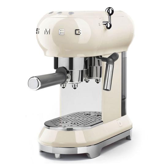 Smeg 50's Retro Style Cream Espresso Machine