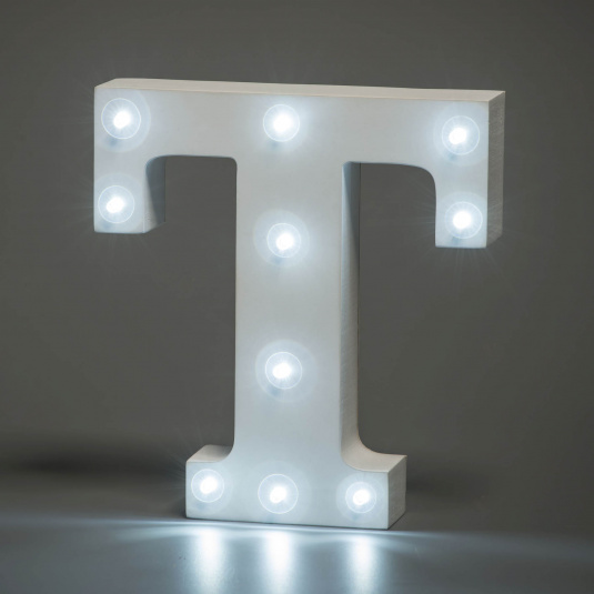 Light Up Letter - T