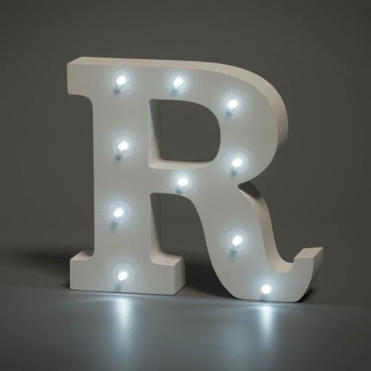 Light Up Letter - R