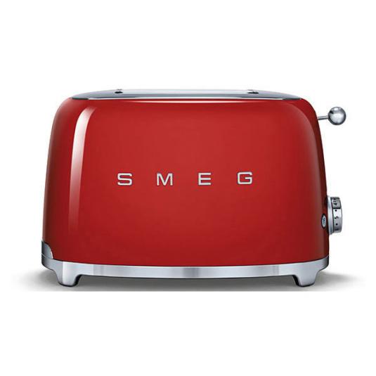 Smeg 50's Retro Style Red 2 Slice Toaster