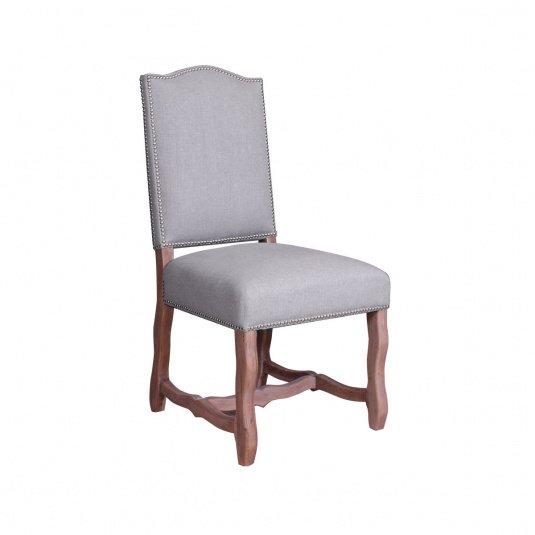 Chateau Linen Upholstered Dining Chair