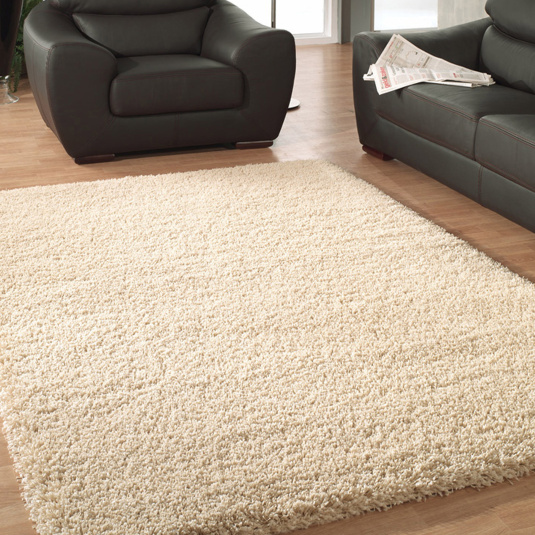 Twilight Ivory Shaggy Rug Collection