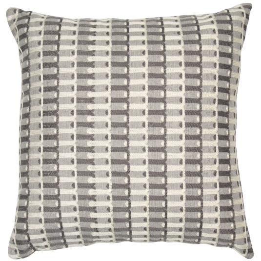 Malini Soho Grey & Black Cushion