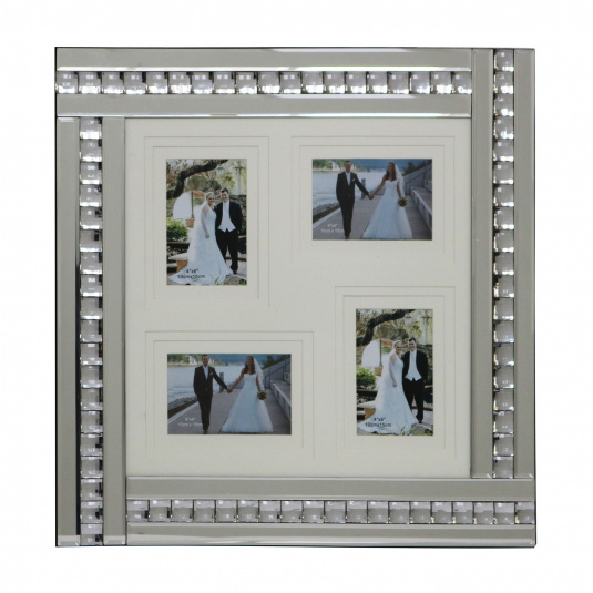 Crystal Collage Photo Frame