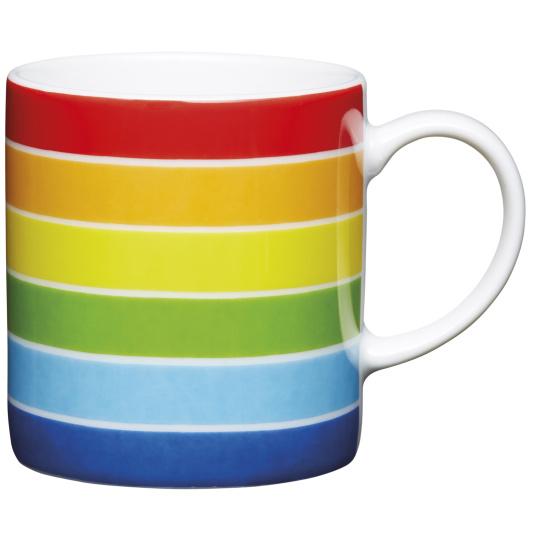 Rainbow Porcelain Espresso Cup