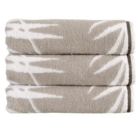 Christy Bamboo Silver Bath Towel