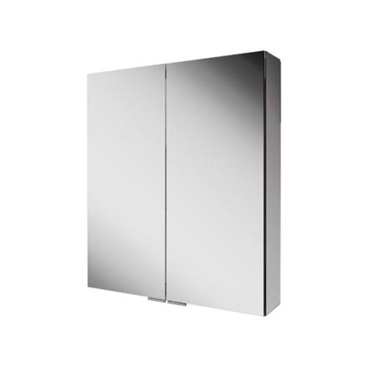 Eris 60 Non Illuminated Aluminium Bathroom Cabinet