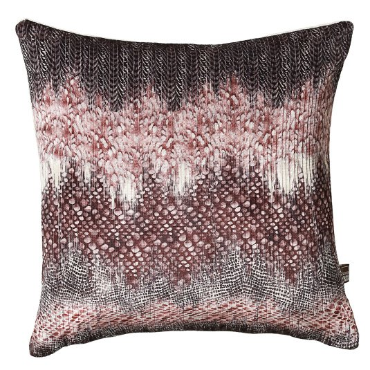 Scatter Box Quill Purple Cushion