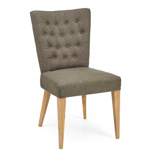 Greenwich Brown Upholstered Dining Chair