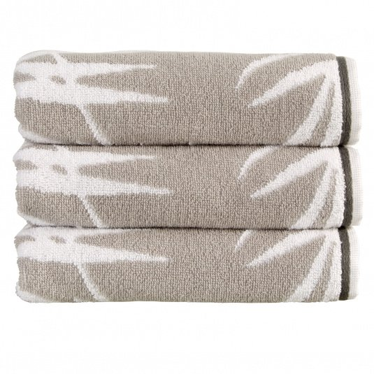 Christy Bamboo Silver Hand Towel