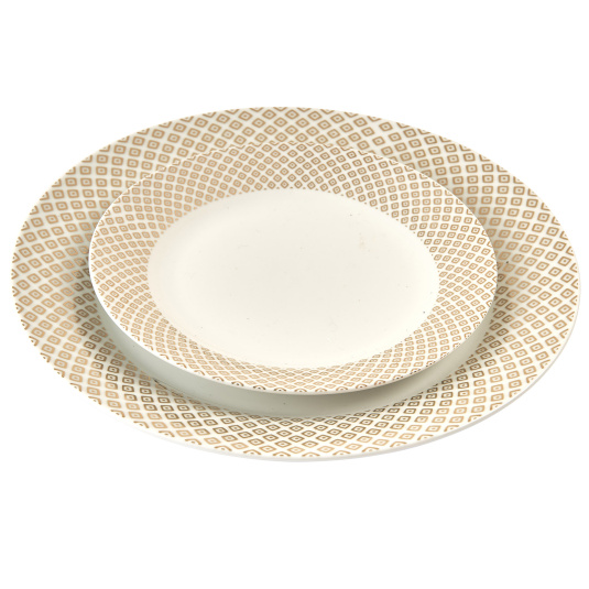 Deco Real Gold Dinner Plate