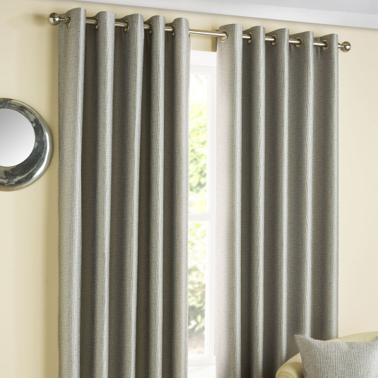 Belfield Ziggi Graphite 90 inch x 90 inch Curtains