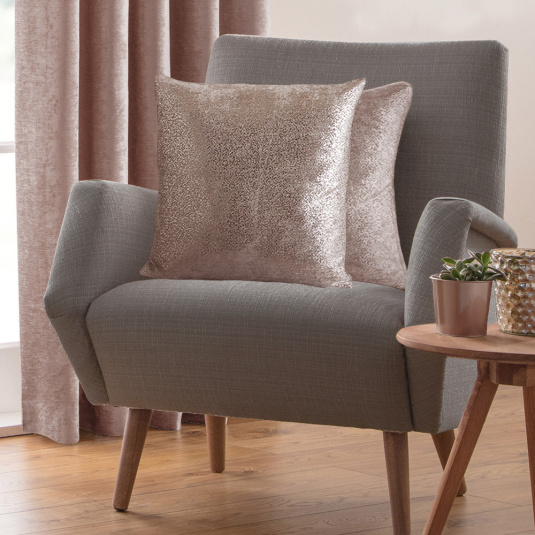 Belfield Nova Blush Cushion Cover