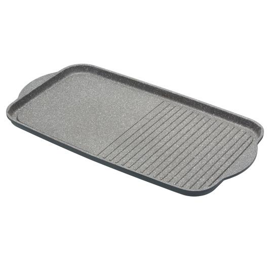 MasterClass Cast Aluminium 51cm Dual Griddle Tray