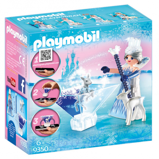 Playmobil Ice Crystal Princess Set