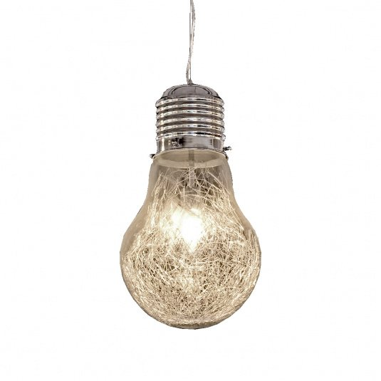 Single Light Bulb Pendant Light