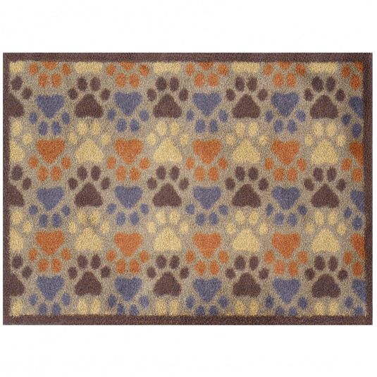 Turtle Mat Patterned Paws Doormat
