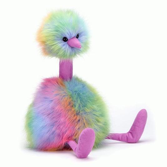 Jellycat Rainbow Pompom Medium Teddy