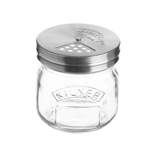 Kilner 0.25 Litre Jar with Shaker Lid