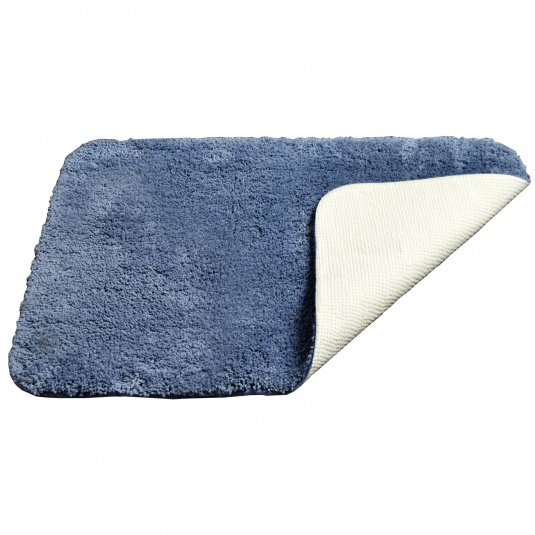 Allure Microfibre Mid Blue Bath Mat