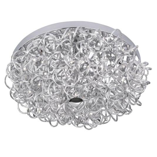 Wofi Apart Semi Flush Ceiling Light
