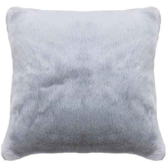 Riva Paoletti Russ Silver Square Cushion
