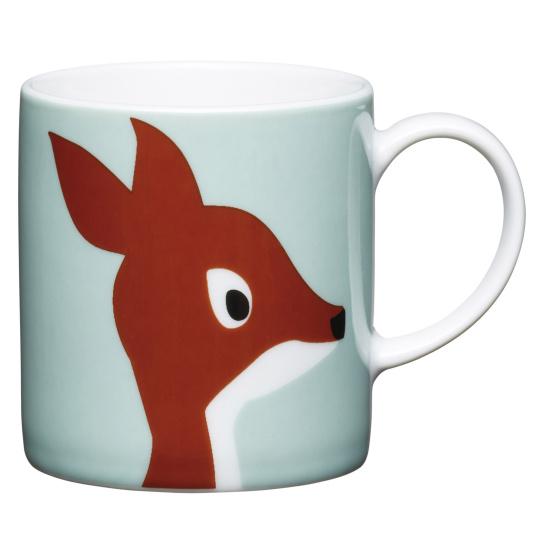 Deer Porcelain Expresso Cup