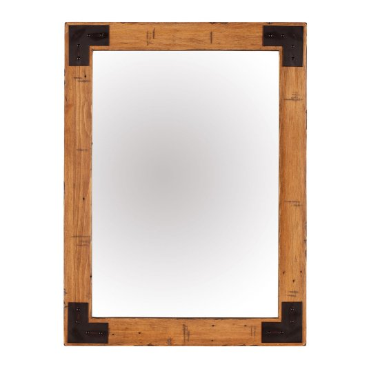 Malmo Reclaimed Timber Wall Mirror