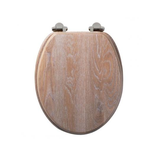 Roper Rhodes Traditional Limed Oak Toilet Seat