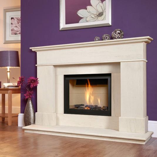 Avignon Celena Black Gas Fire Suite