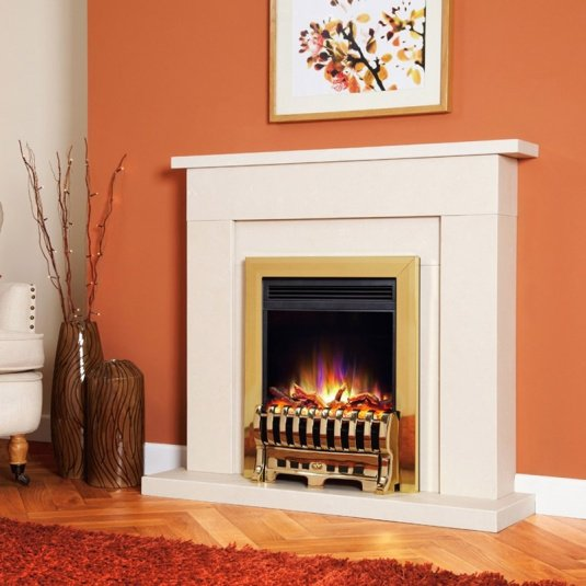 Celsi Electriflame XD Royale Brass Electric Fire