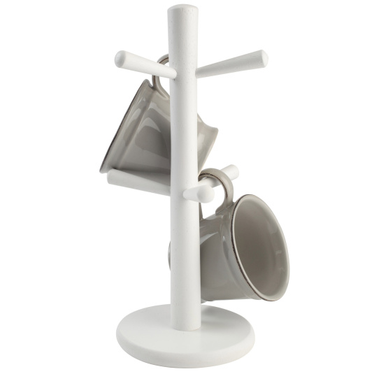 T&G Pride of Place White Mug Tree
