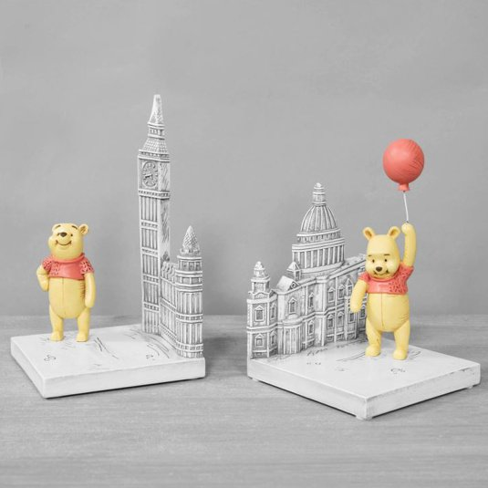 Disney Winnie the Pooh Resin Bookends