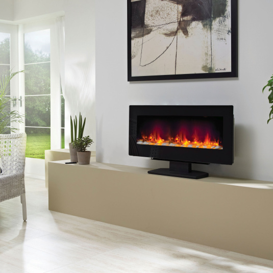 Burnaby LED Wall Mounted Electric Fire