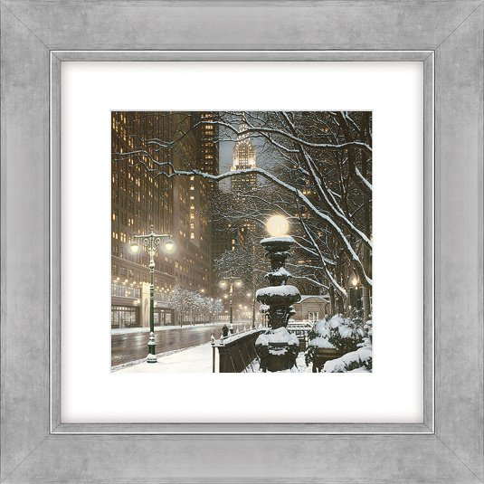 City Lights by Rod Chase Framed Picture