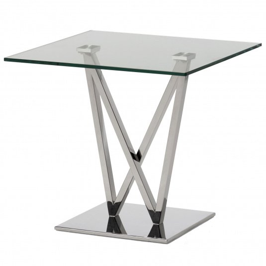 Elevate Glass Side Table