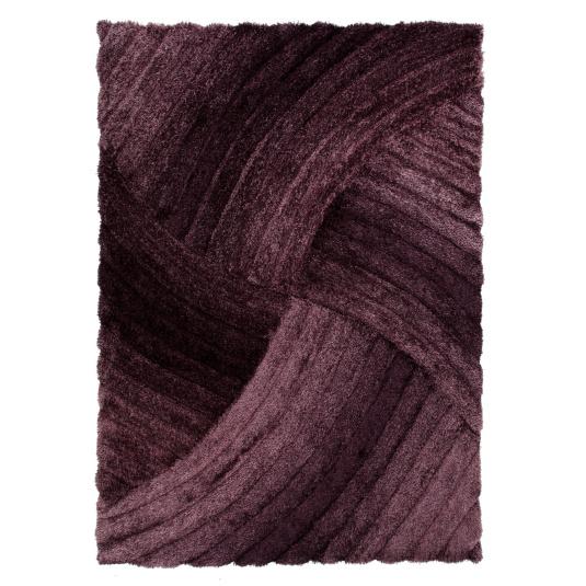 Verge Furrow Purple 160cm x 230cm Rug