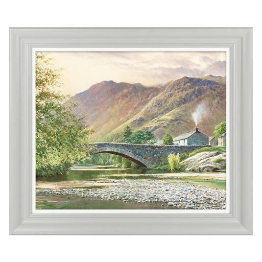 Hillside Cottage Ii By Duncan P Framed Picture